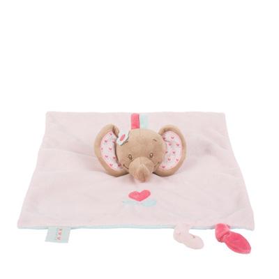 Doudou l'élephant rose Nattou