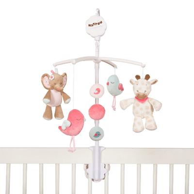 Mobile bébé charlotte et rose Nattou