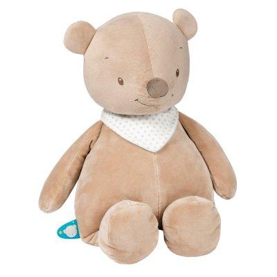 Peluche basile l'ours 75cm Nattou