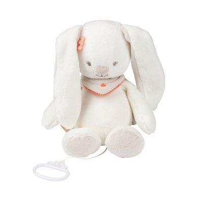 Peluche bébé musical mia le lapin Nattou