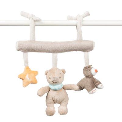 Jouet de lit bébé maxi toy mia et basile Nattou