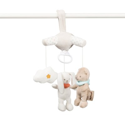 Mini mobile bébé mia et basile Nattou