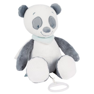 Peluche bébé musicale panda loulou Nattou