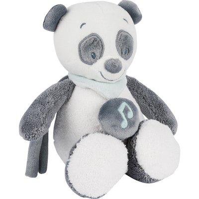 Peluche bébé mini musicale panda loulou Nattou