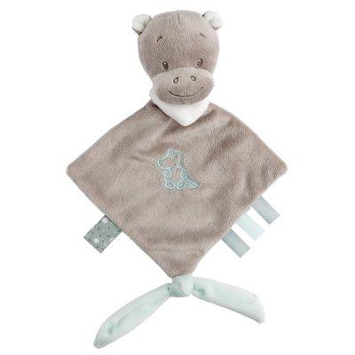 Mini doudou hippopotame hippolyte Nattou