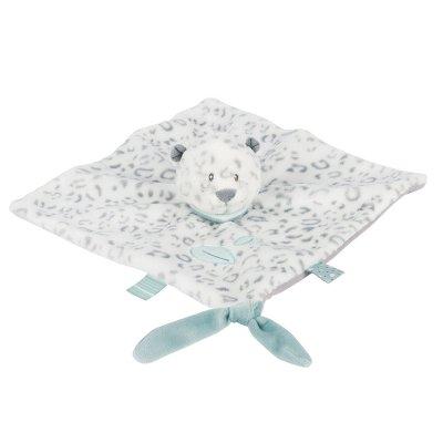 Doudou panthère des neiges léaq Nattou