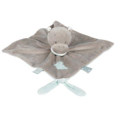 Doudou hippopotame hippolyte Nattou