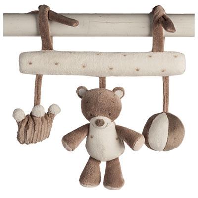 Jouet de lit bébé maxitoy l'ours tom Nattou