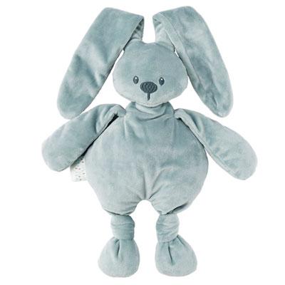 Peluche bébé lapidou gris Nattou