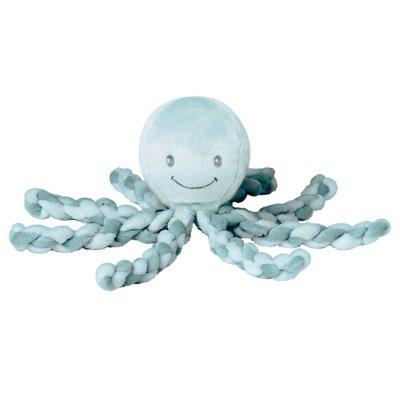 Peluche bébé pieuvre vert Nattou