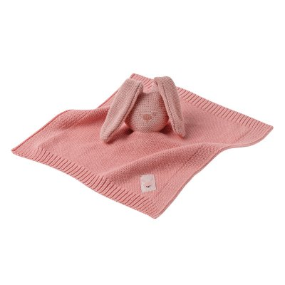 Doudou tricot lapidou rose Nattou