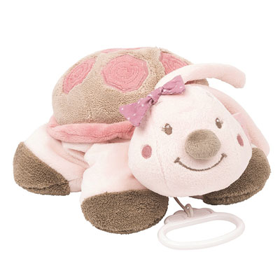 Peluche bébé musicale la tortue lili Nattou