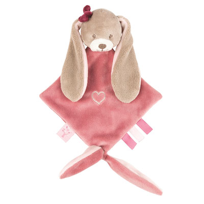 Mini doudou le lapin nina Nattou