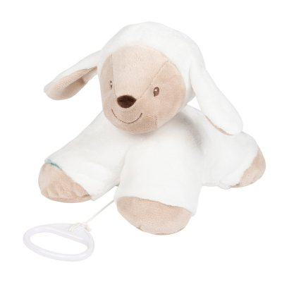 Peluche bébé musical tim le mouton Nattou