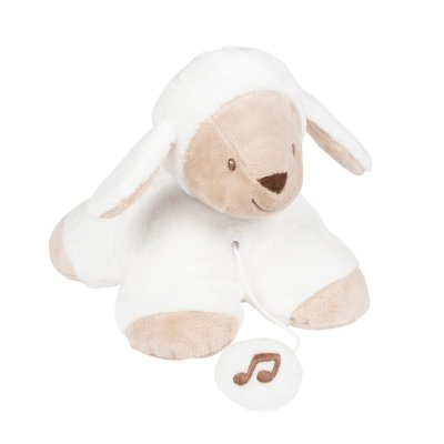 Peluche bébé mini musical tim le mouton Nattou