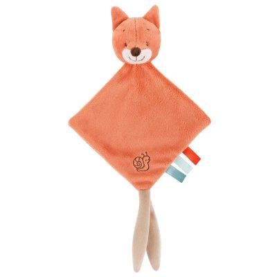 Mini doudou oscar le renard Nattou