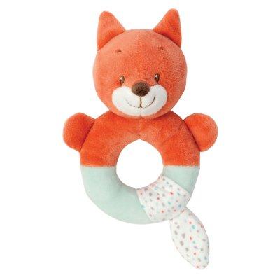 Hochet anneau oscar le renard Nattou