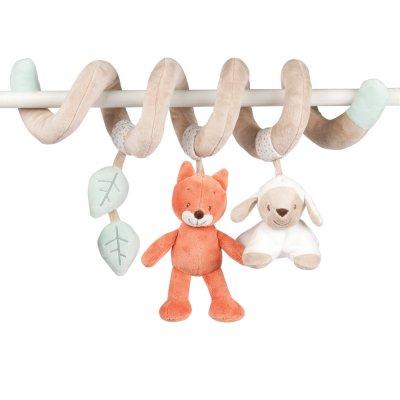 Jouet de lit bébé spirale fanny et oscar Nattou
