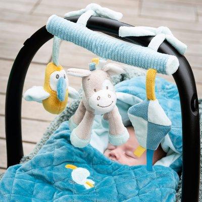 Jouet de lit bébé maxi toy tim et tiloo Nattou