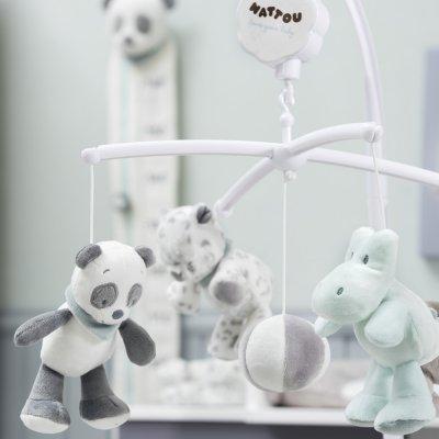 Mobile bébé lea, loulou & hippolyte Nattou