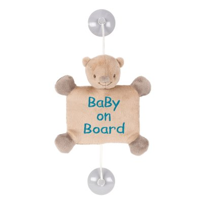 Signalétique baby on board basile l'ours Nattou