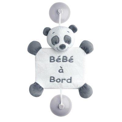Signalétique bébé à bord panda loulou Nattou