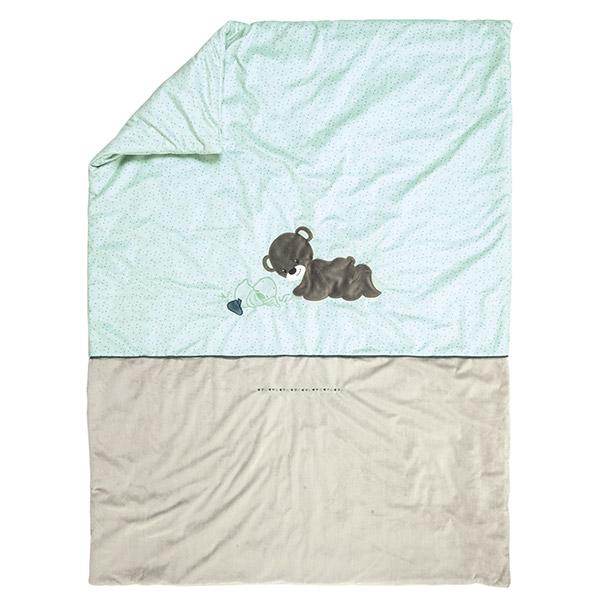 Couverture bébé 100x135cm jack, jules et nestor Nattou