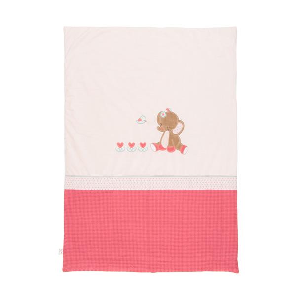 Couverture 80 x 120 cm charlotte et rose Nattou