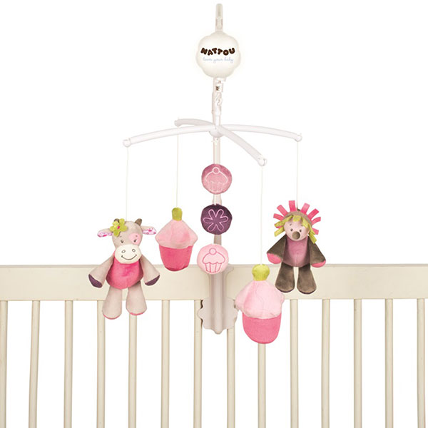 Mobile bébé manon & alizée Nattou