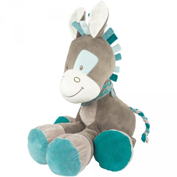 Peluche bébé cheval 75 cm gaston Nattou