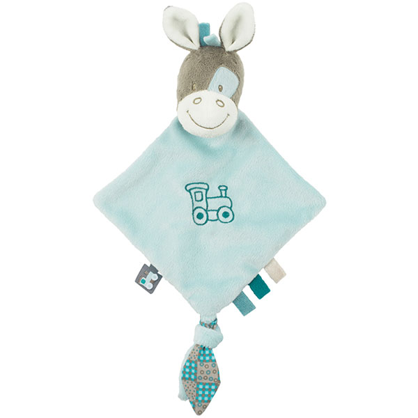 Doudou mini cheval gaston Nattou