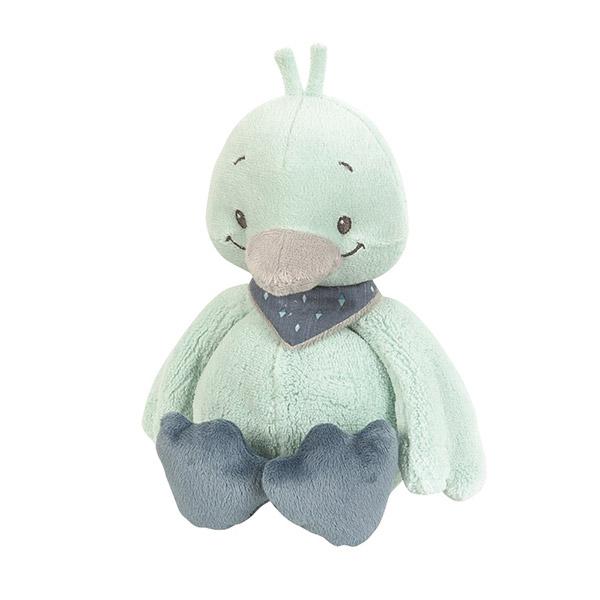 Peluche bébé nestor le canard Nattou