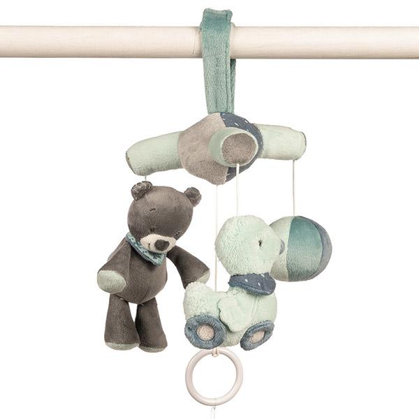 Mini mobile bébé jack, jules et nestor Nattou