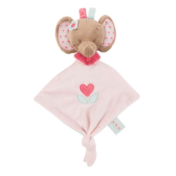Mini doudou l'élephant rose Nattou