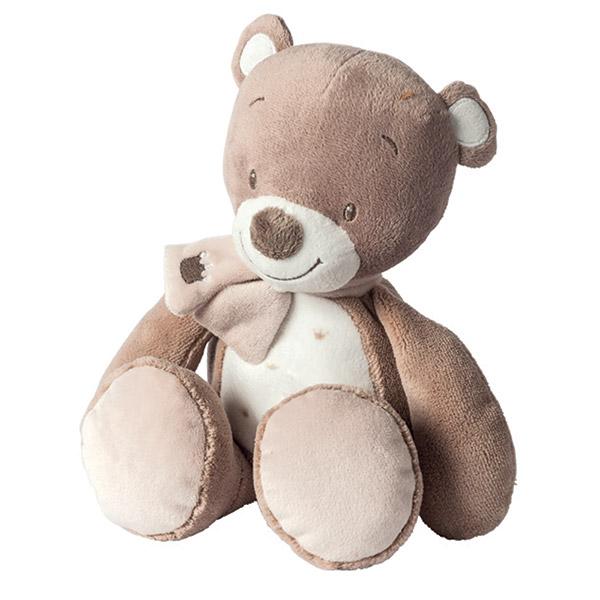 Peluche bébé l'ours tom Nattou