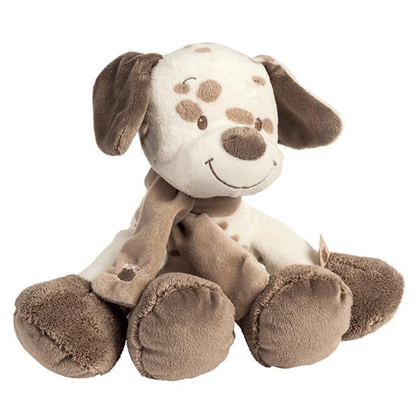 Peluche bébé le chien max Nattou