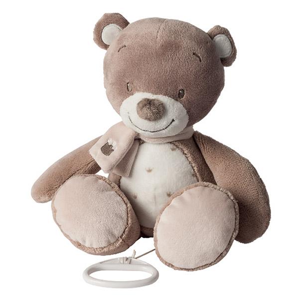 Peluche musical l'ours tom Nattou