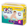 Couches maxi taille 4 (7-19 kg) 1x 36 couches Kidy
