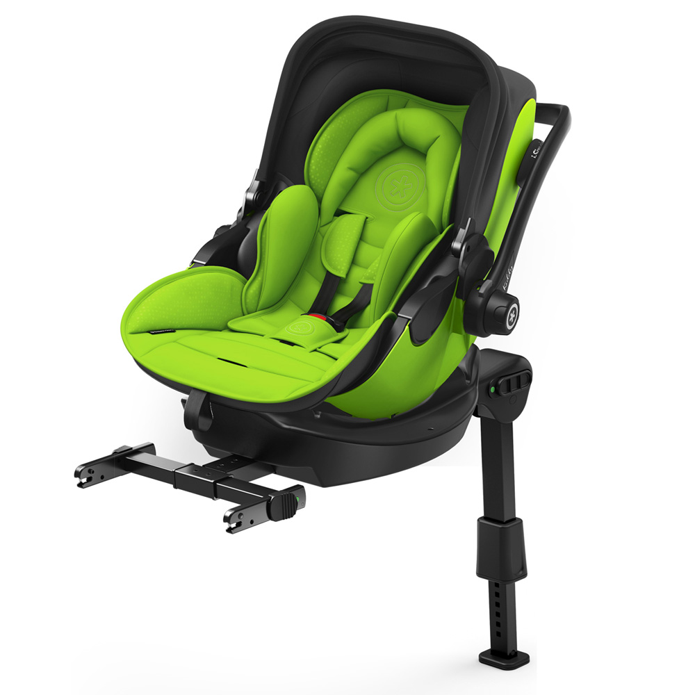 si ge auto evoluna i size2 avec base isofix spring green groupe 0 de kiddy sur allob b. Black Bedroom Furniture Sets. Home Design Ideas
