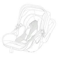 Housse été pour siège auto evoluna i-size