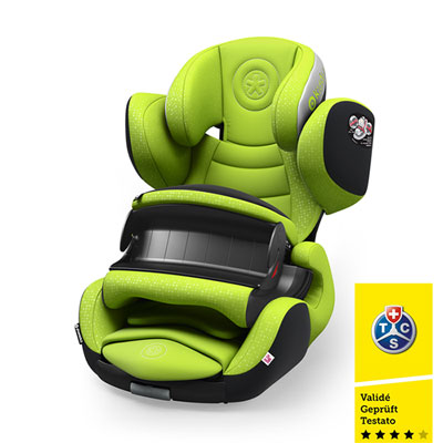 Siège auto phoenixfix 3 lime green - groupe 1 Kiddy