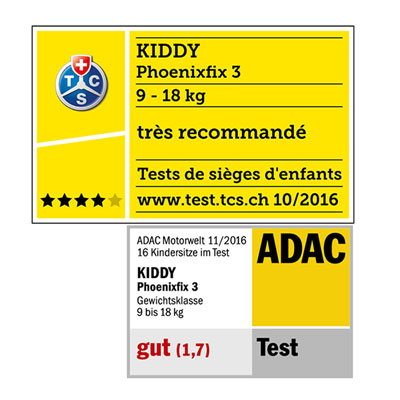 Siège auto phoenixfix 3 nougat brown - groupe 1 Kiddy