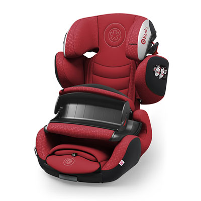 Siège auto guardianfix 3 ruby red - groupe 1/2/3 Kiddy