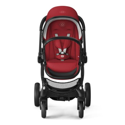 Poussette 4 roues evostar ruby red Kiddy