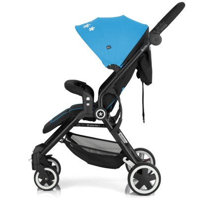 Poussette canne urban star summer blue Kiddy