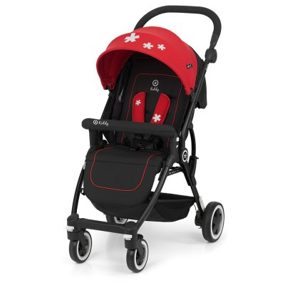 Poussette canne urban star chili red Kiddy