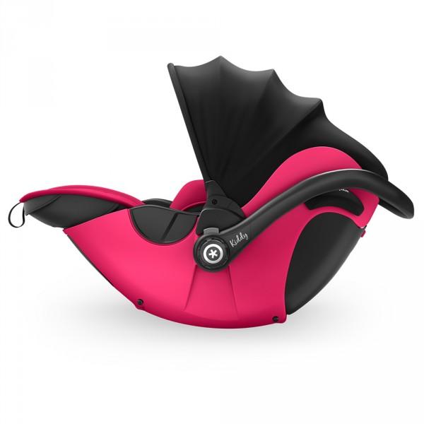 Siège auto evoluna i-size2 avec base isofix berry pink - groupe 0+ Kiddy