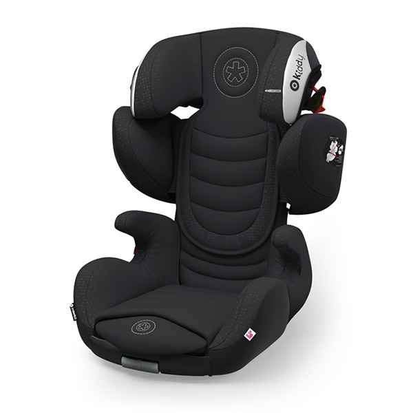 Siège auto cruiserfix 3 onyx black - groupe 2/3 Kiddy