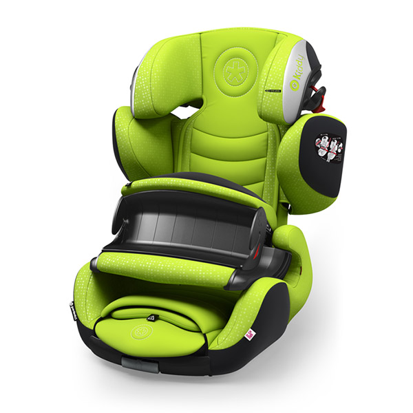 Siège auto guardianfix 3 lime green - groupe 1/2/3 Kiddy