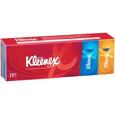 Kleenex mouchoirs brand 12 x 24 Kleenex